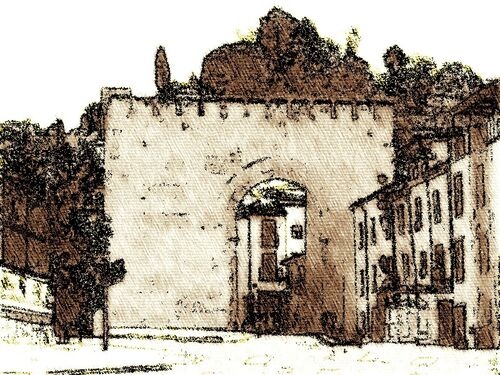 Arco de Elvira Granada