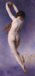 William-Adolphe Bouguereau (1825-1905) - Lost Pleiad (1884)