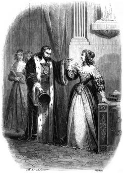 Dumas - Les Trois Mousquetaires - 1849 - page 144 - b&w