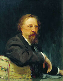A.K.Tolstoy by Repin