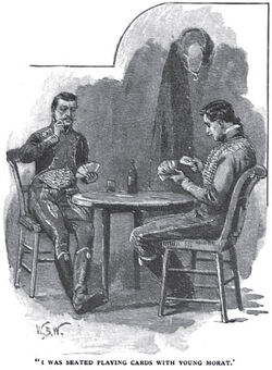 'How the Brigadier Slew the Brothers of Ajaccio' by William Barnes Wollen 1