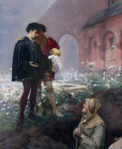 Pascal Adolphe Jean Dagnan-Bouveret - Hamlet and the Gravediggers