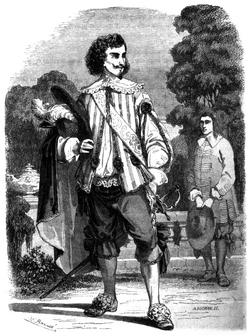 Dumas - Les Trois Mousquetaires - 1849 - page 012 - b&w