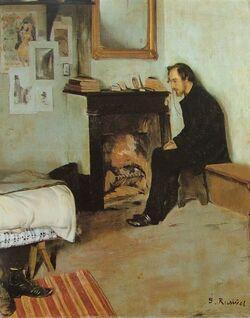 Satie Logis, Santiago Rusinol, 1891