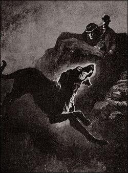 Houn-53 - The coal-black Hound (Hound of Baskervilles)