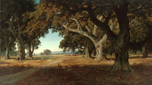 California Ranch by William Keith, 1908