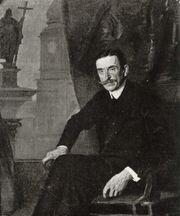 Stanisław Lentz - Zdzisław Lubomirski - portret - z r. 1916