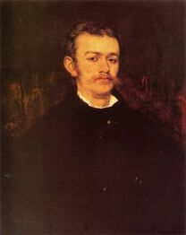 Władysław Tarnowski by Maurycy Gottlieb
