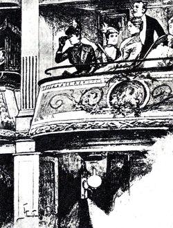 Lalka - Loża pierwszego piętra