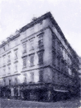 Róg Riemergasse 16 i Singerstraße 25