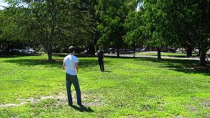 Eddie and Daniel at Park