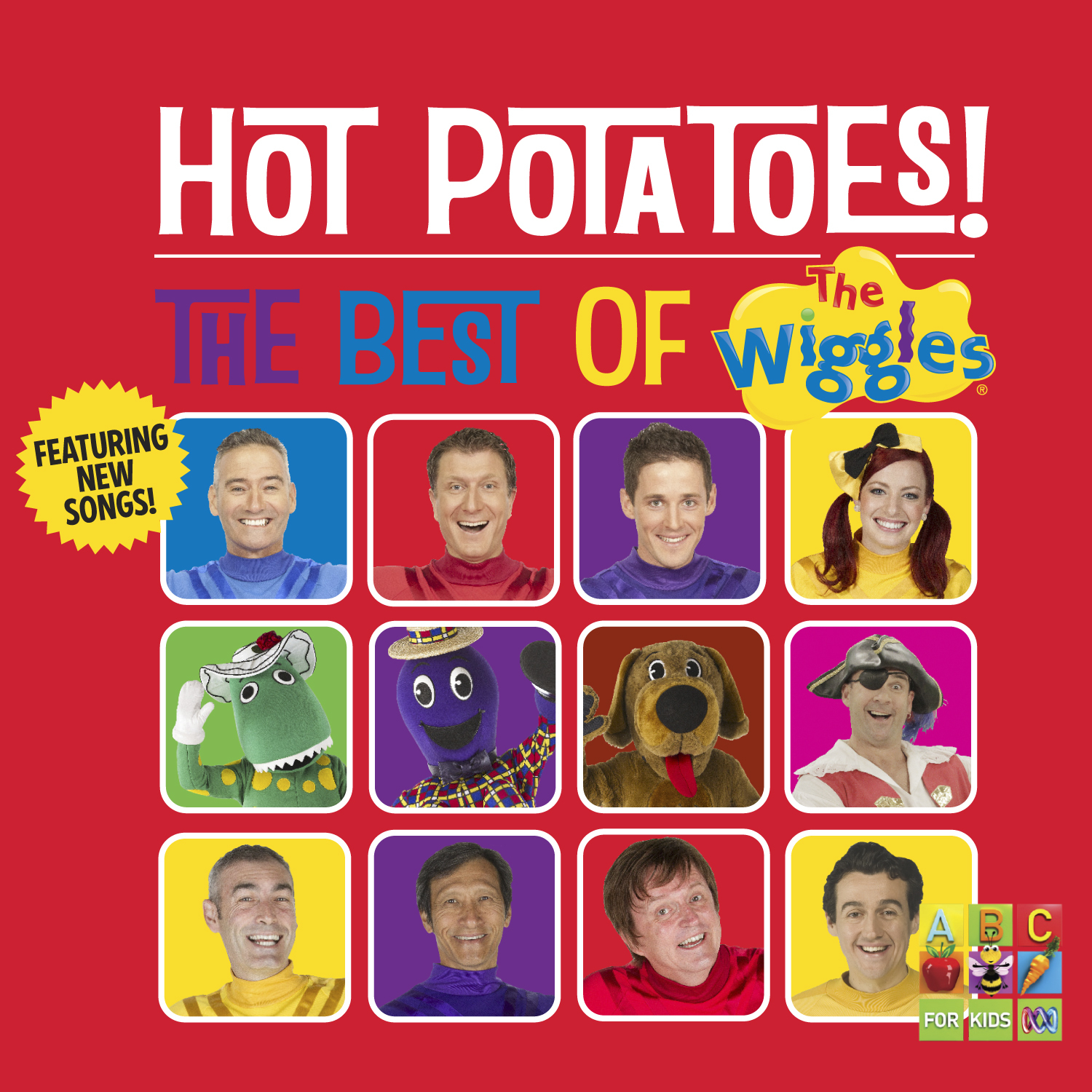 Hot Potatoes! The Best Of The Wiggles (2013 Album