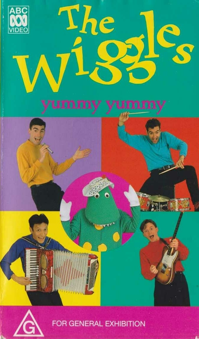 The Wiggles Musical Singing Dancing Accordian Rare