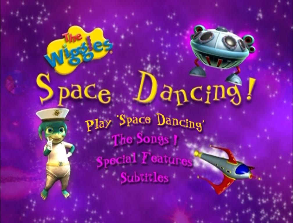 Space Dancing! (DVD Menu)
