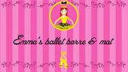 Emma'sBalletBarreandMattitlecard
