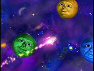 Blue,YellowandGreenPlanets