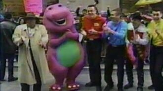 Barney and The Wiggles on the TODAY Show (2001)
