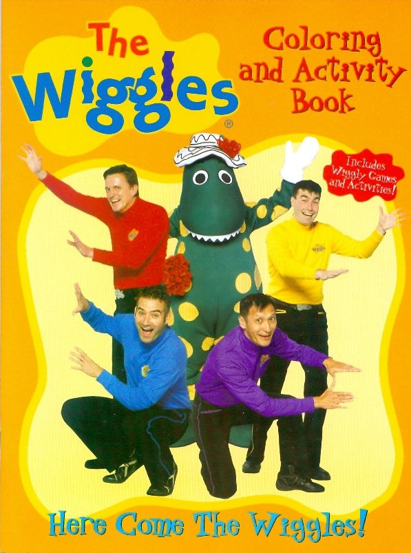 Here Come the Wiggles (coloring book) | Wigglepedia | FANDOM powered ...