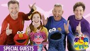 The Wiggles Do The Propeller with Sesame Street!