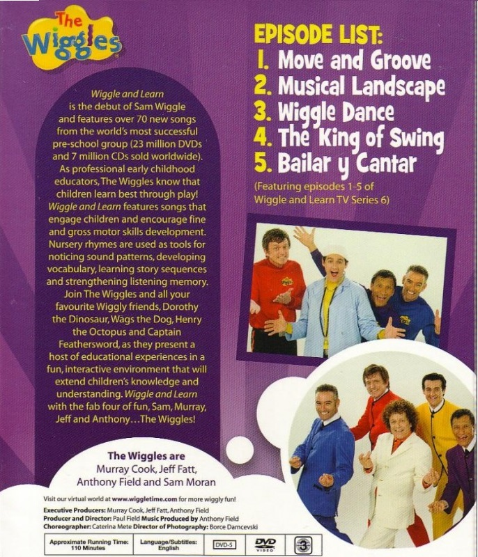 Opening To The Wiggles Wiggle And Learn 2011 DVD - YouTube