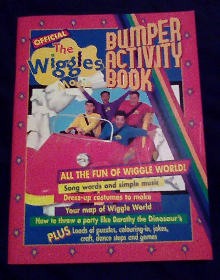 Official the wiggles movie bumper activity book wigglepedia official the wiggles movie bumper activity book gumiabroncs Images