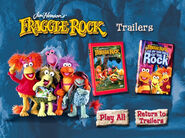 Fraggle Rock Trailers From It's A Wiggly, Wiggly World! And Lights, Camera, Action!
