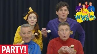 The Wiggles Egg And Spoon Race
