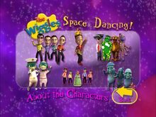 SpaceDancing-AbouttheCharactersMenu