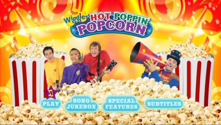Hot Poppin Popcorn! (DVD Menu)