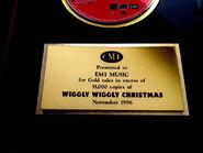 Wiggly,WigglyChristmasAlbumAwardNote