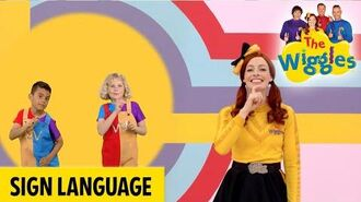 The Wiggles Toot Toot, Chugga Chugga, Big Red Car - Emma Sign Language Time