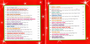 Yule Be Wiggling AU Booklet Song List and Song Credits