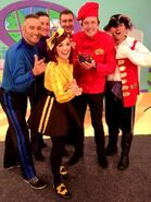 TheWiggles,MurrayandCaptainFeathersword