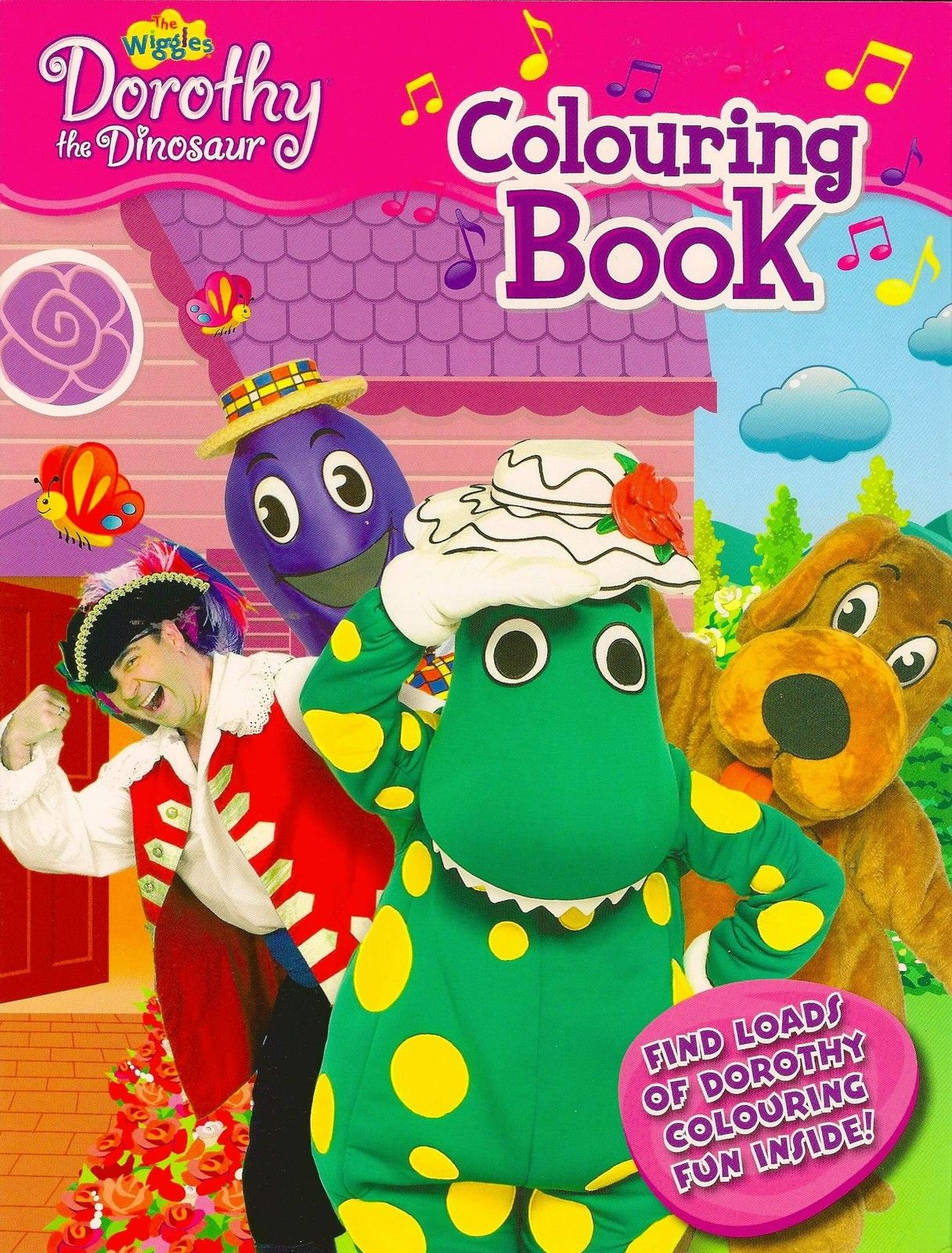 Dorothy the Dinosaur Colouring Fun Book | Wigglepedia | FANDOM ...