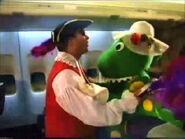 CaptainandDorothyonQantasAirplane