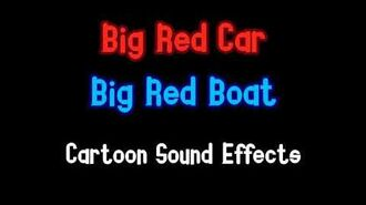 Big Red Car - Cartoon Sound Effects