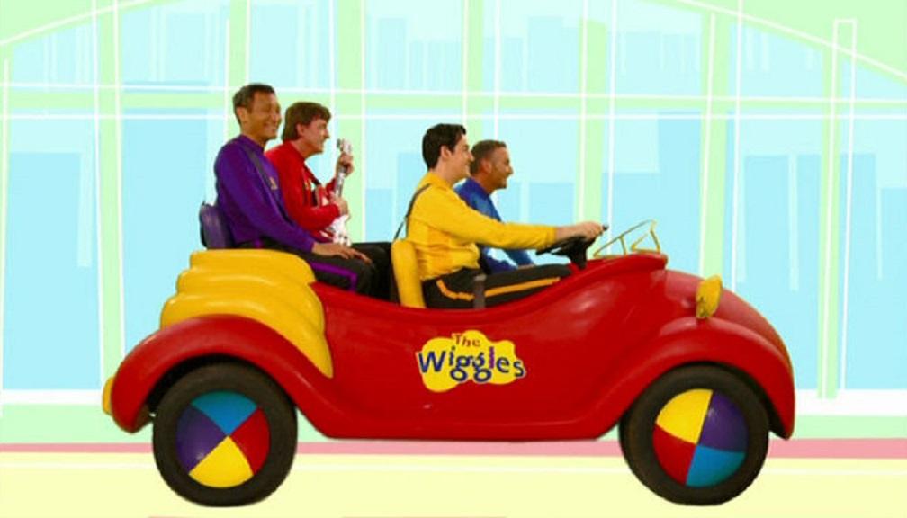 Sam Drives The Big Red Car