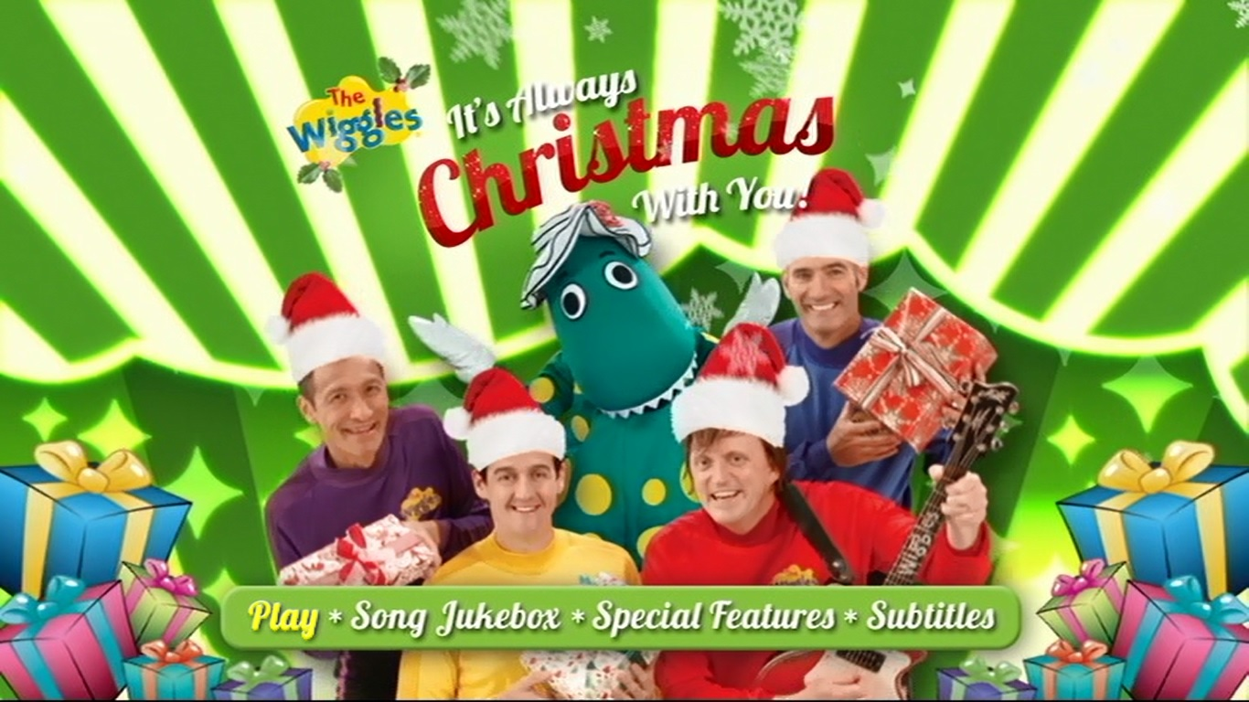 its always christmas with you dvd menu - Always Christmas