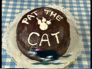 PattheCatandherNameonCake