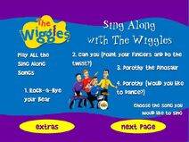 Wiggledance!-2001DVDSongSelectionPage1
