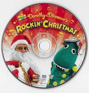 DorothytheDinosaur'sRockinChristmasalbumdisc