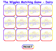 MemoryGame MatchtheDairyItems