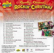 DorothytheDinosaur'sRockinChristmasalbumbookletbackcover
