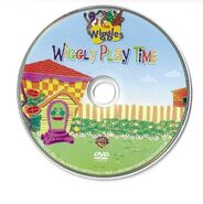 The Wiggles- Wiggly Play Time 2007 DVD Disc