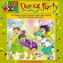 Dance-Party-–-Rare-1995-CD-The-Wiggles