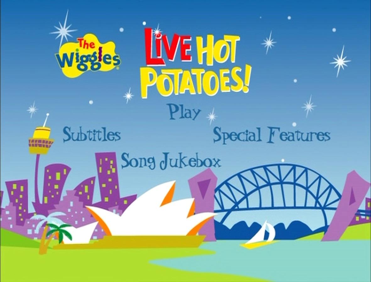 Live Hot Potatoes Dvd Menu Wigglepedia Fandom Powered By Wikia