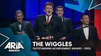 The Wiggles win Outstanding Achievement Award 2003 ARIA Awards