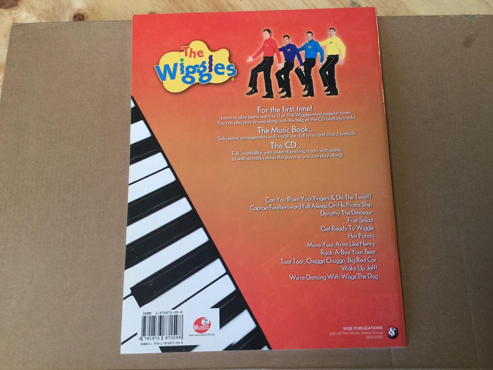 Play Piano with    The Wiggles | Wigglepedia | FANDOM