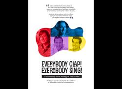 EverybodyClap!EverybodySing!Poster