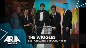 The Wiggles win Best Children's Record 1996 ARIA Awards-0